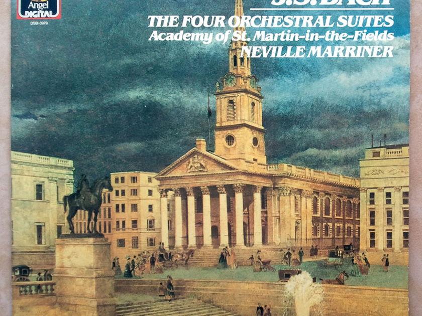 EMI Digital/Marriner/Bach - The Four Orchestral Suites / 2-LP / German Pressings / EX