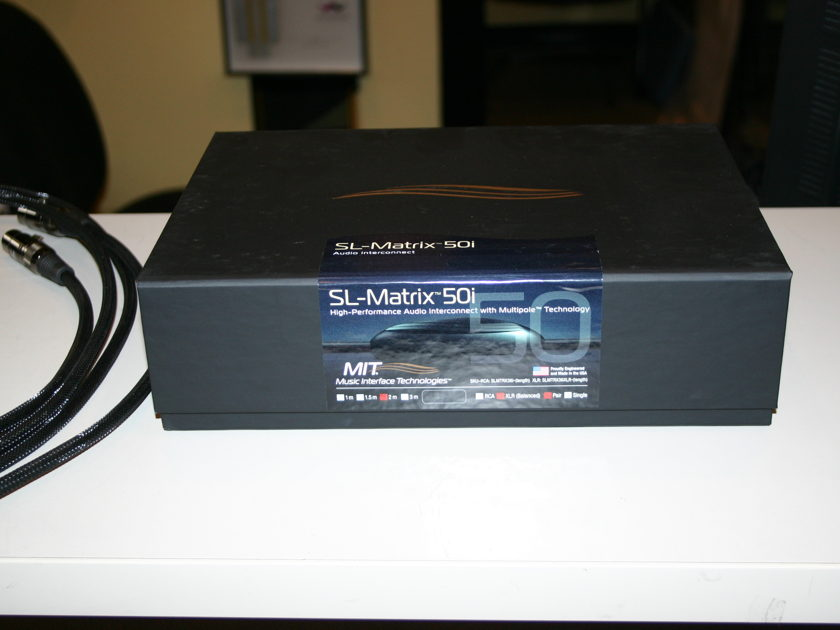 MIT Cables SL Matrix 50i Proline