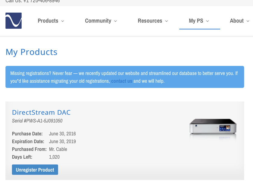 PS Audio Directstream DAC w Factory Network Bridge II  - New Condition!! 3 Year Warranty! No fee & Free Shipping!!!
