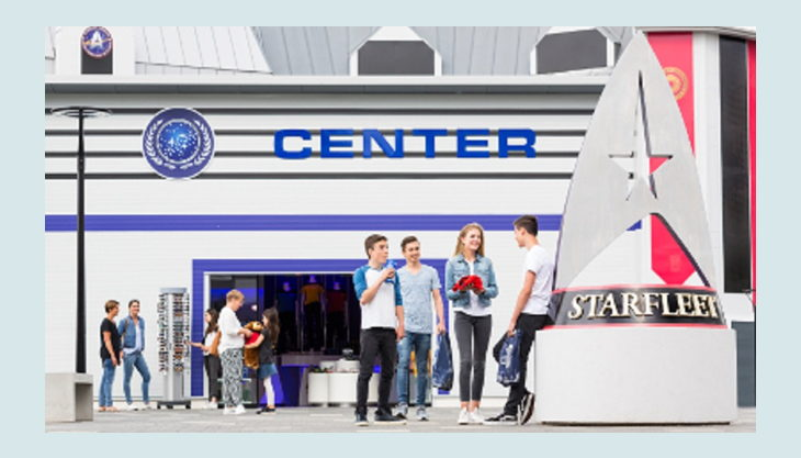 movie park germany star trek operation enterprise federation plaza