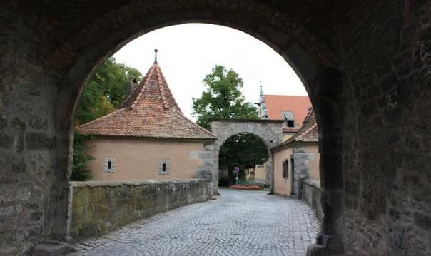 Экскурсия по Ротенбургу об дер Таубер