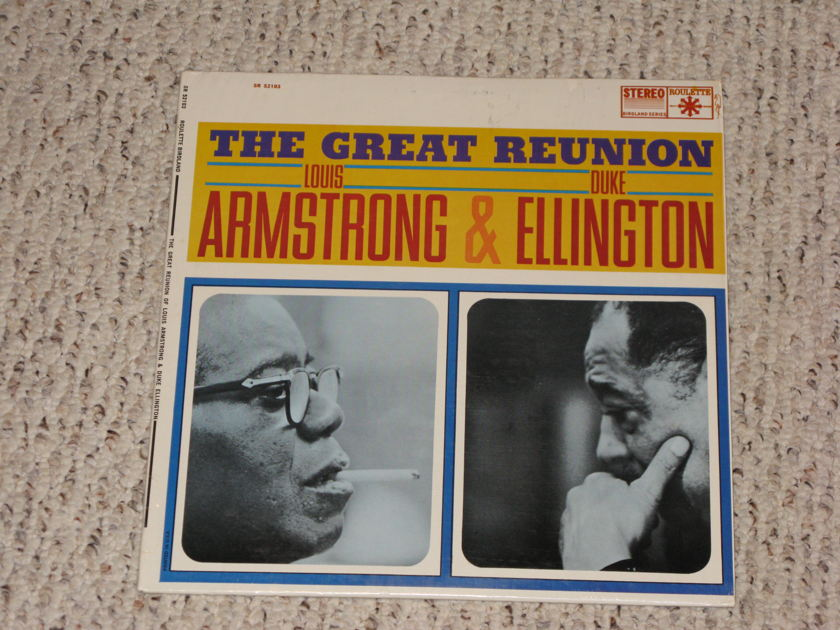 Duke Ellington/Louis Armstrong - The Great Reunion Roulette Stereo 1963