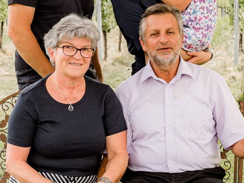 Heidi und Hans Trummer –  Weingut Trummer St. Nikolai ob Draßling in der Südsteiermark