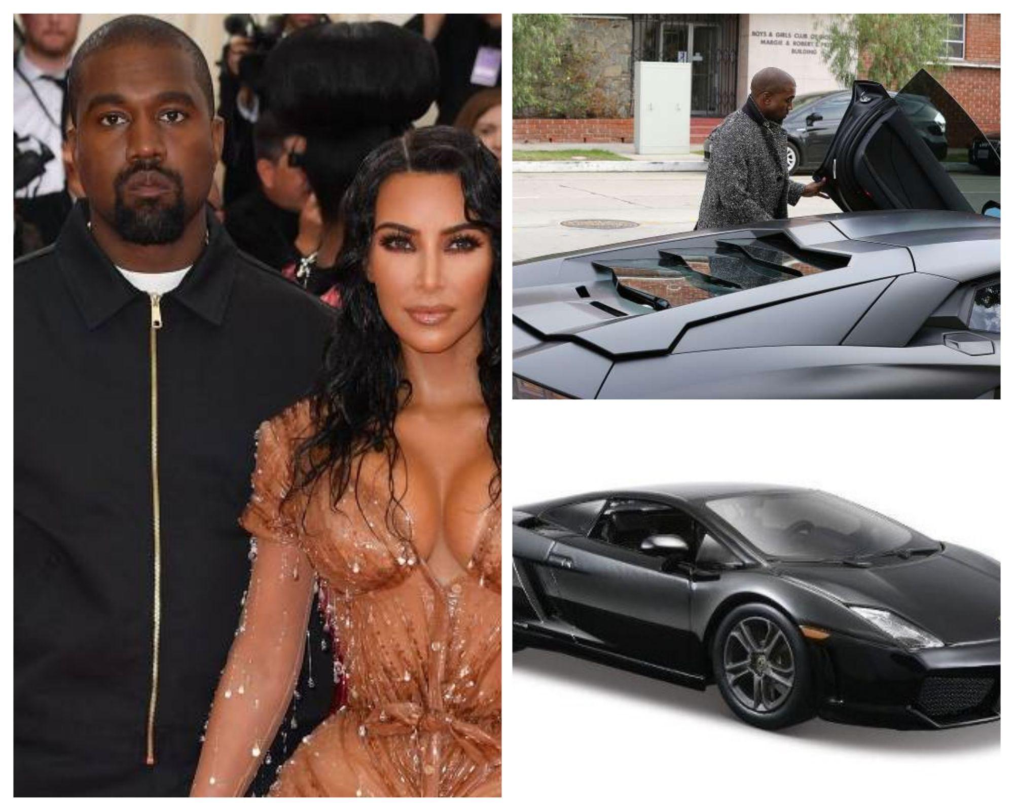 Kanye West e Kim K.