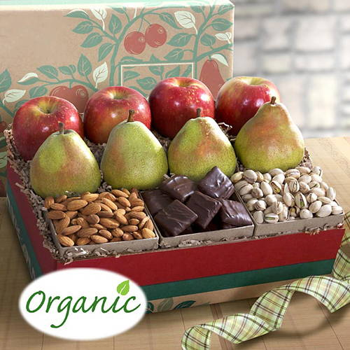 Organic Delux Munch and Fruit  Gift Box