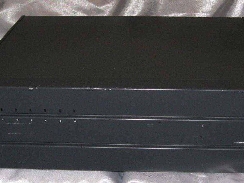 Ads as ph6 Bridgeable six channel power amplifier 60 x 6