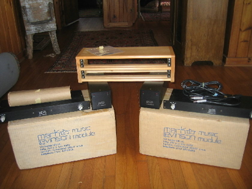 Mark Levinson ML6-A Mono Preamps Mint Pair
