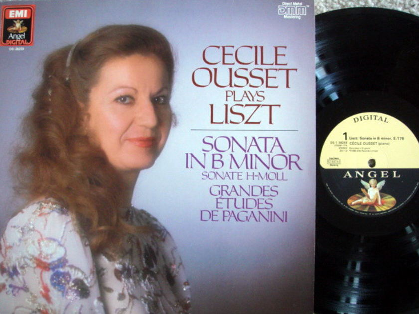 EMI Angel Digital / OUSSET, - Liszt Piano Sonata in B Minor,  MINT!