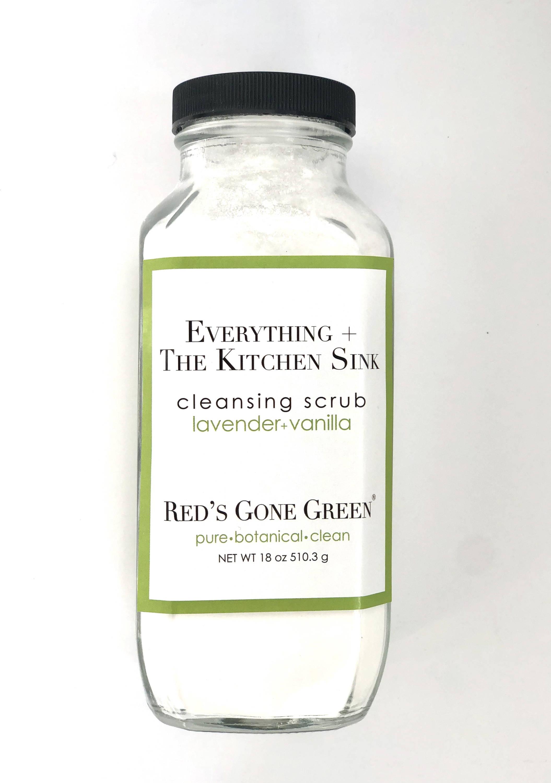 lavender vanilla cleansing scrub
