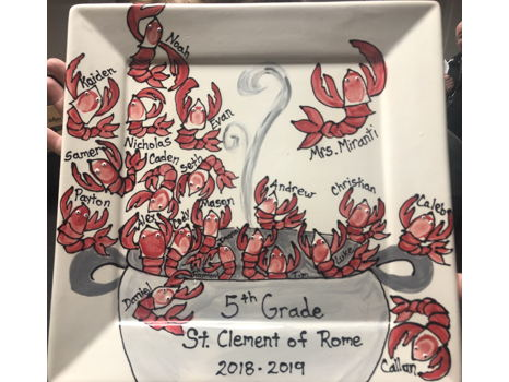 Fifth Grade- Mrs. Miranti- Crawfish Platter