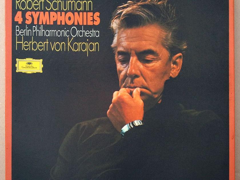 DG   KARAJAN/SCHUMANN - The 4 Symphonies / 3-LP box / NM