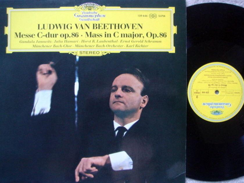 DGG / KARL RICHTER-MBO, - Beethoven Mass in C Major, NM!