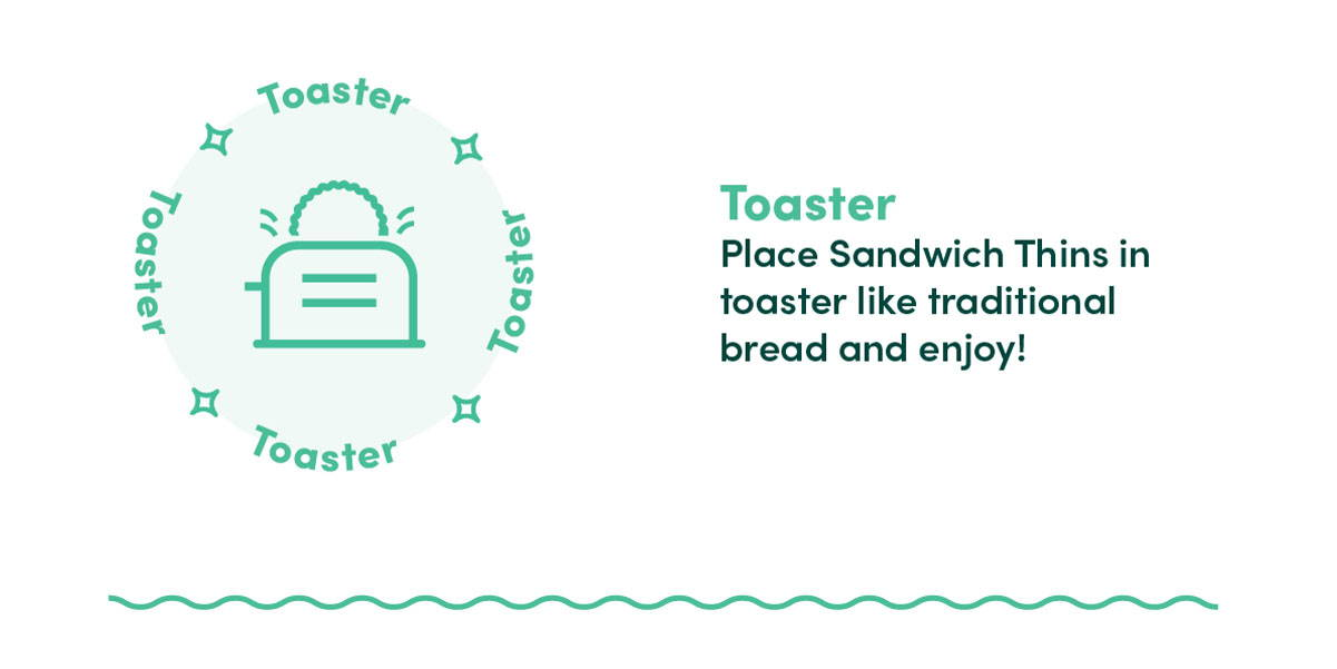 how to crisp outer aisle in the toaster