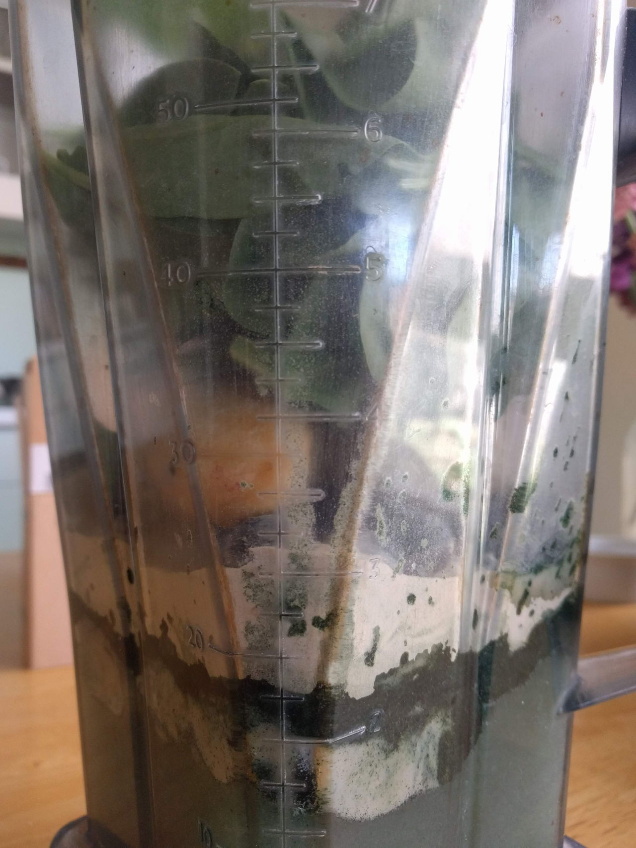 Blueberry ginger green smoothies // View the recipe on www.bridgidgallagher.com >>>