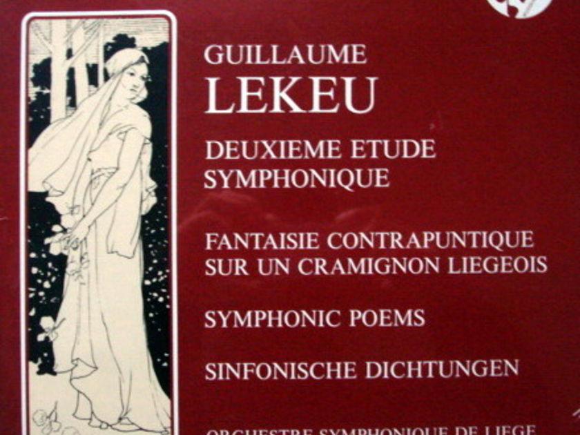 ★Sealed Audiophile★ Schwann / - P. STRAUSS, Lekeu Deuxieme Etude Symphonique!