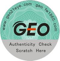 GEO Medical anti-fake authenticity seal
