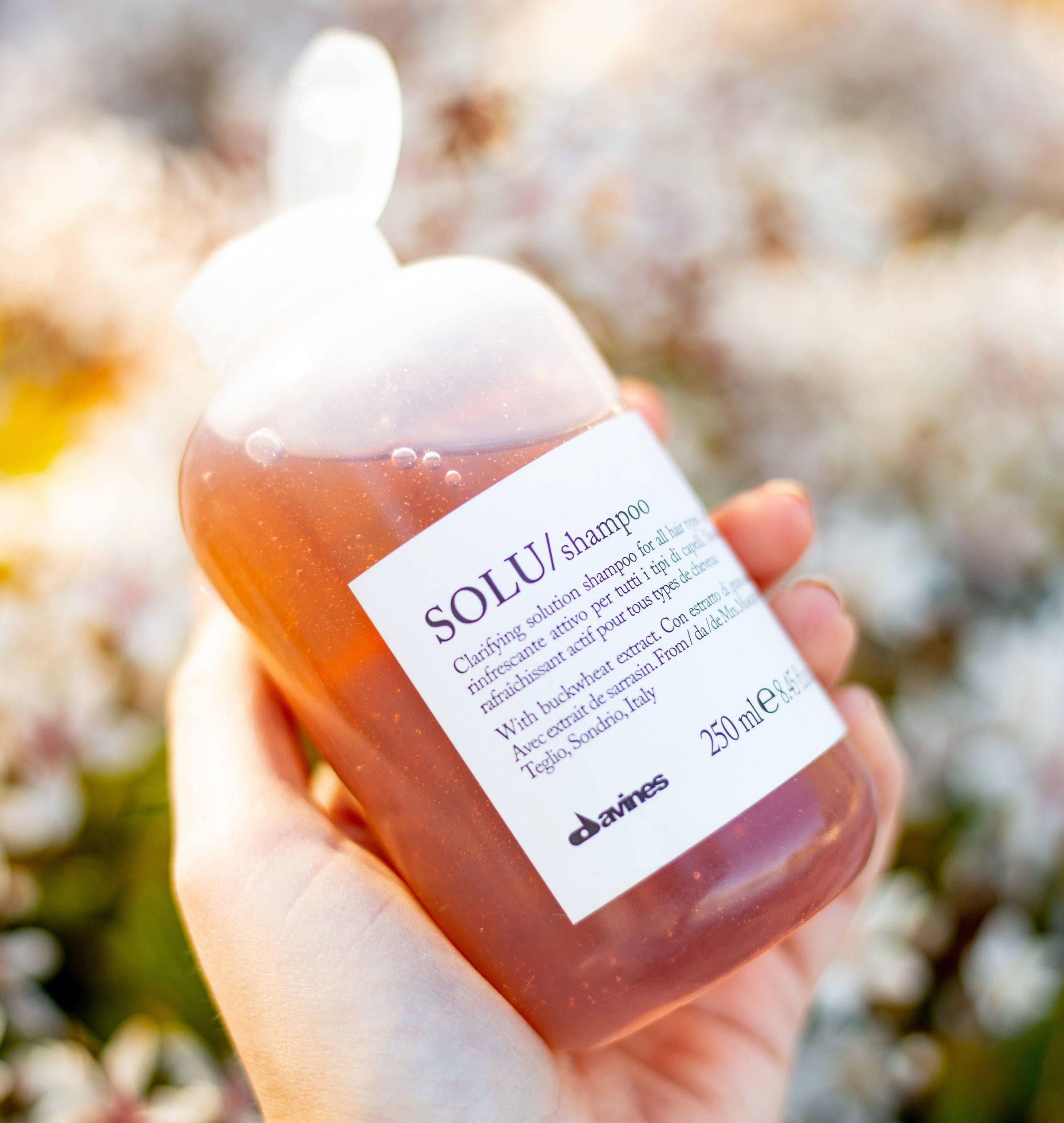 Davines solu shampoo clarifying