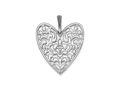 James Avery Venetian Hearts Pendant & Earrings (Ruby)