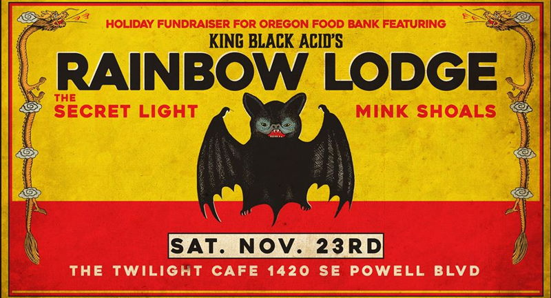 King Black Acid's the Rainbow Lodge, the Secret Light, Mink Shoals
