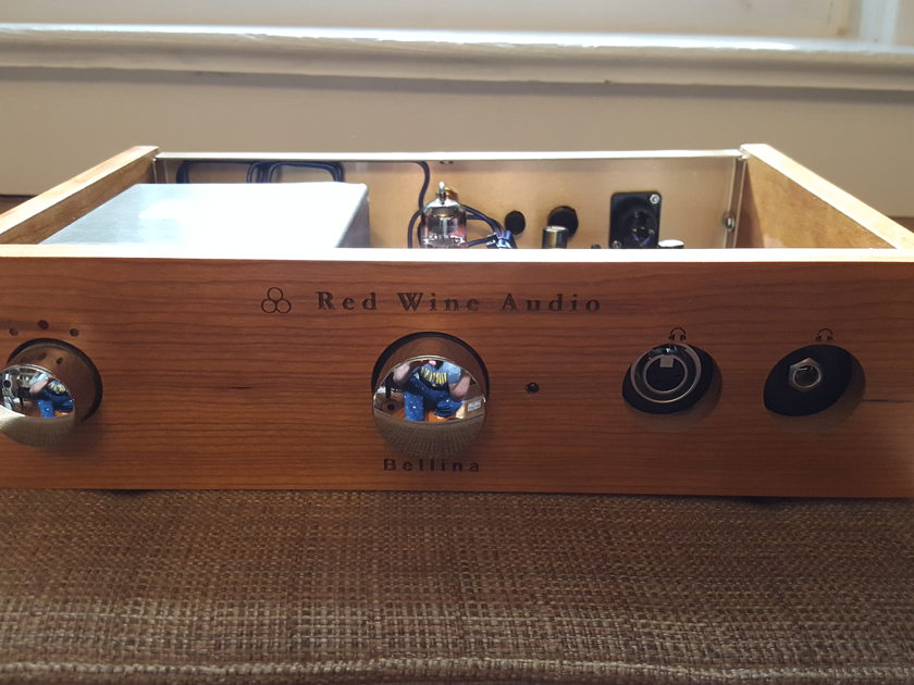 Red Wine Audio - Bellina HPA Reference Head Amp & Pro Edition DAC : LFP-V Edition With Options