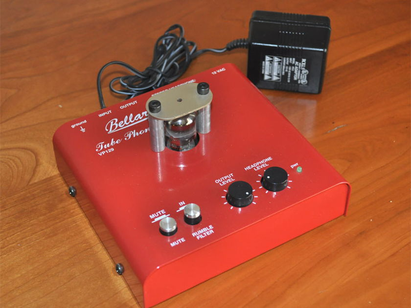Bellari Audio VP-129 Tube Phono Preamp