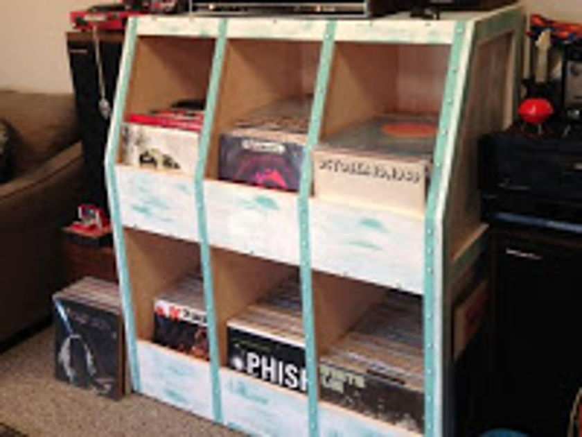 Custom Crafted Record Cabinets,LLC The King