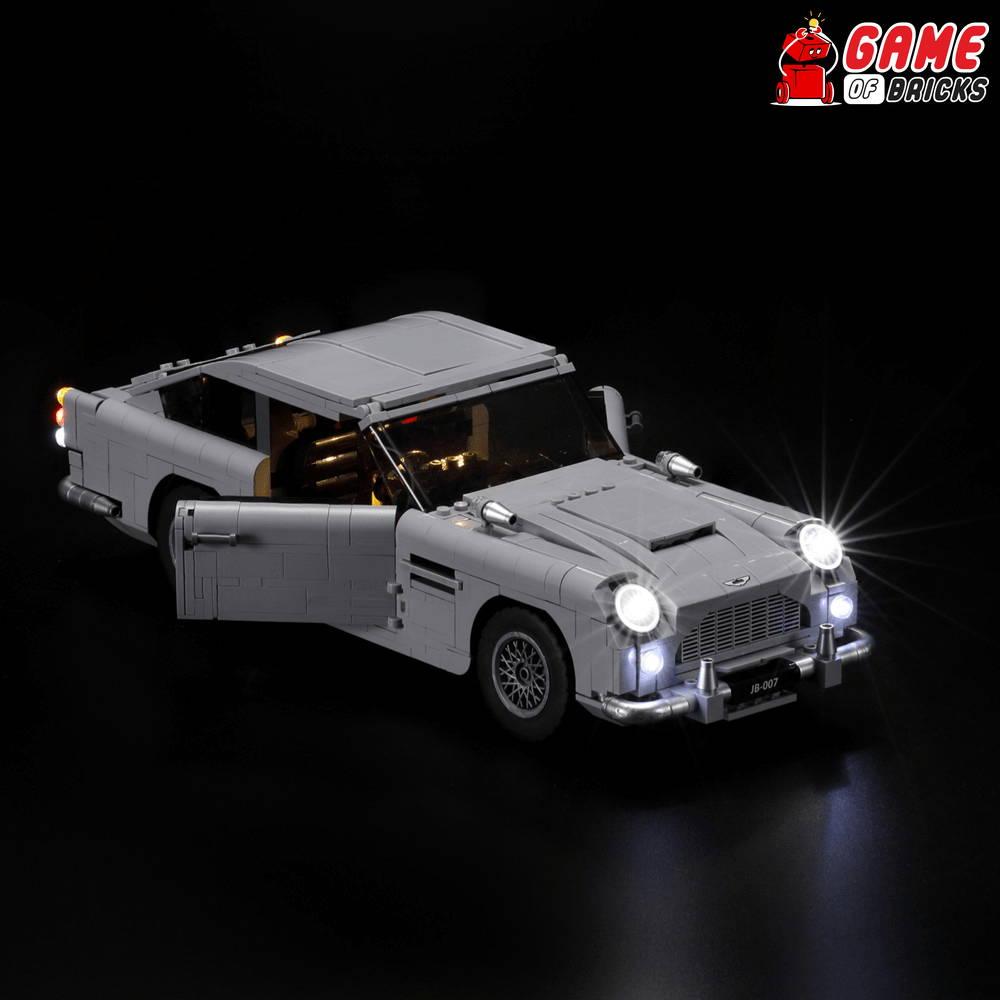 lego night light JAMES BOND ASTON MARTIN DB5 10262