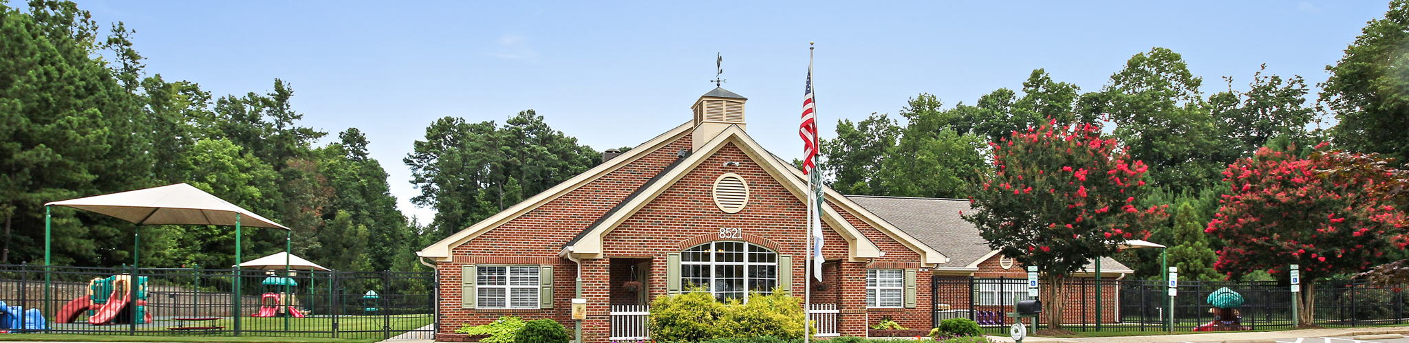 Exterior of a Primrose School of North Raleigh