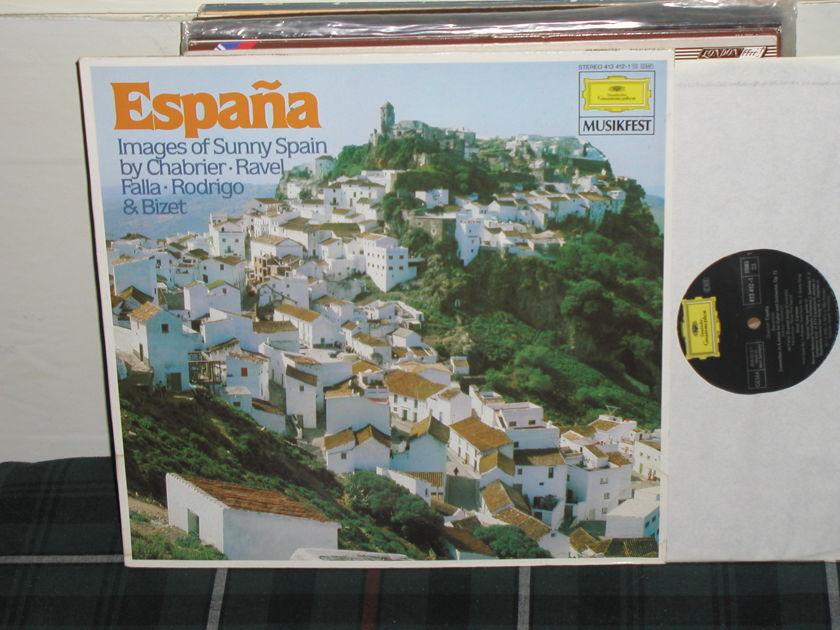 Maazel+more - Espana (Pics) DG German Import  LP