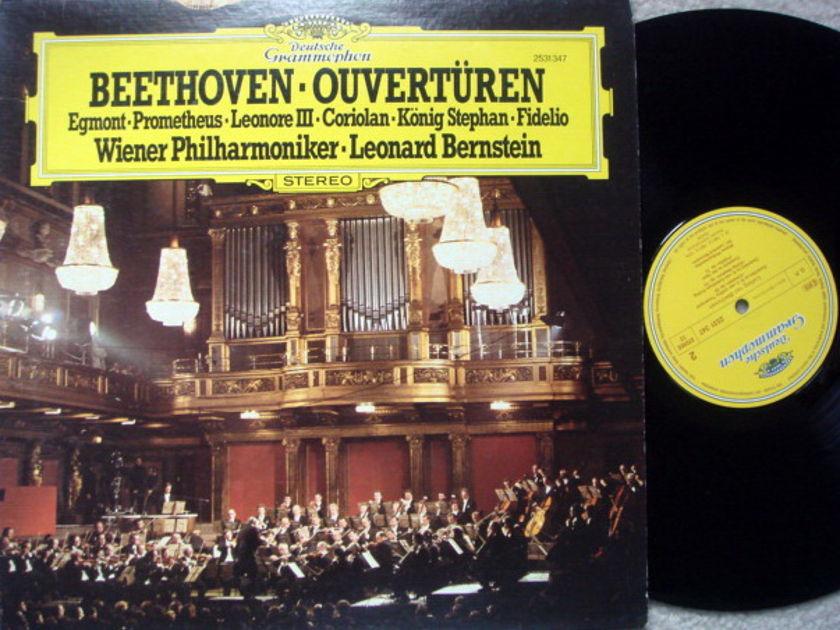 DG / Beethoven Overtures, - BERNSTEIN/VPO, MINT!