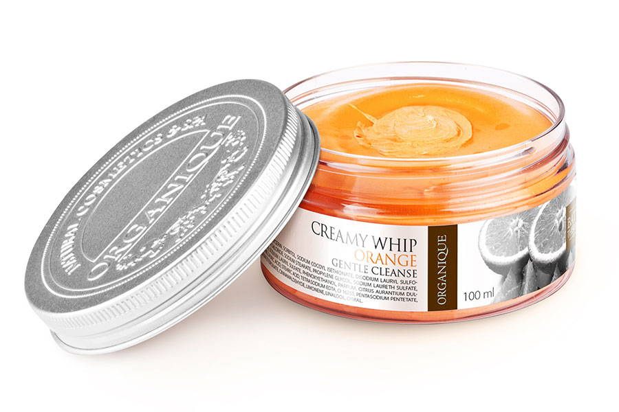 Creamy Whip Fluffy Body Wash Orange