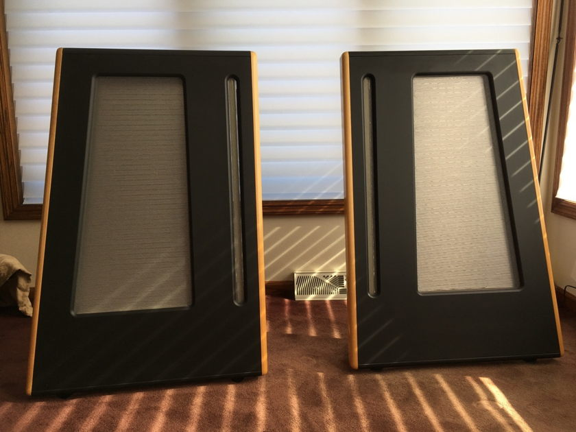 Apogee Acoustics Stage Speakers Beautiful/Flawless ribbons!