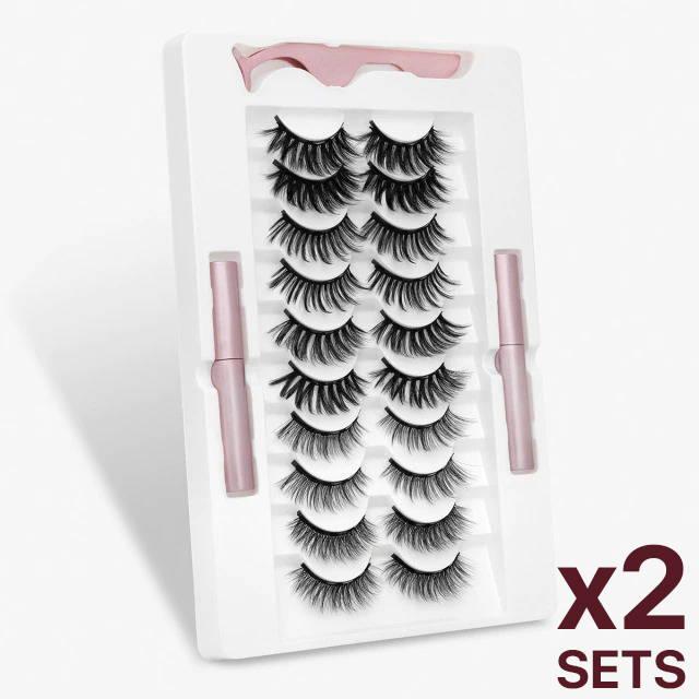 mua discount lashes, tatti lashes, how to apply luma lashes