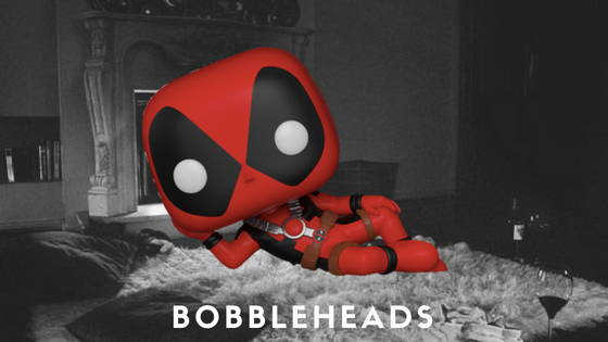 Deadpool Movie and Comic Pop's and Bobbleheads by Funko, free shipping across India