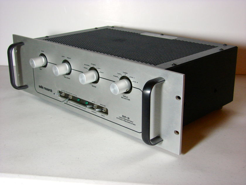 AUDIO RESEARCH SP-8 PREAMPLIFER Rev 6 Mk11