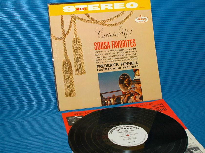 "SOUSA / Fennell  - ""Sousa Favorites"" -  Mercury Living Presence Promo 1st Pressing"