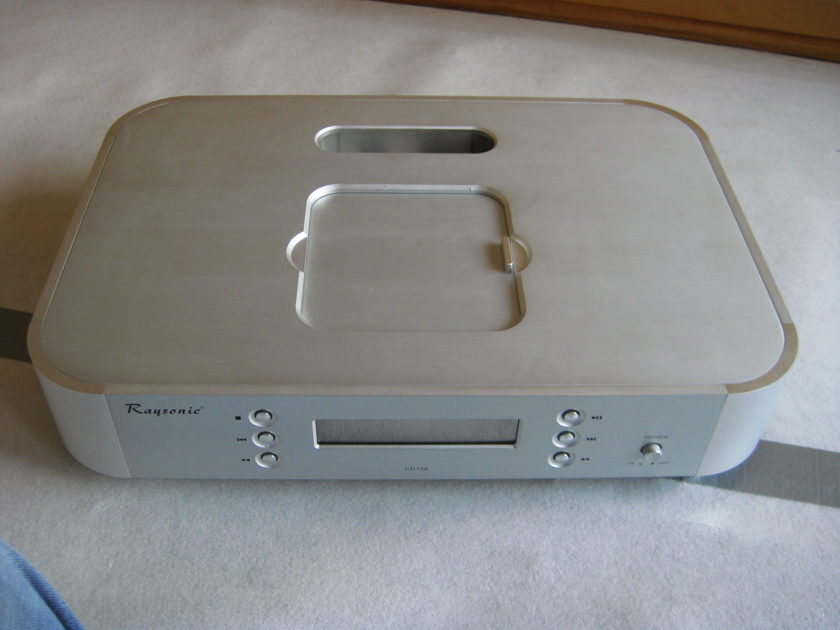Raysonic cd 138 cd player modified by parts connection
