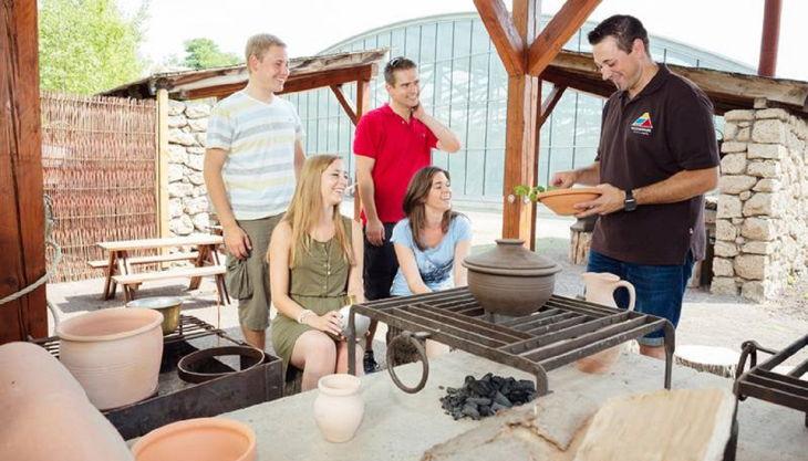 römerbergwerk antike küche