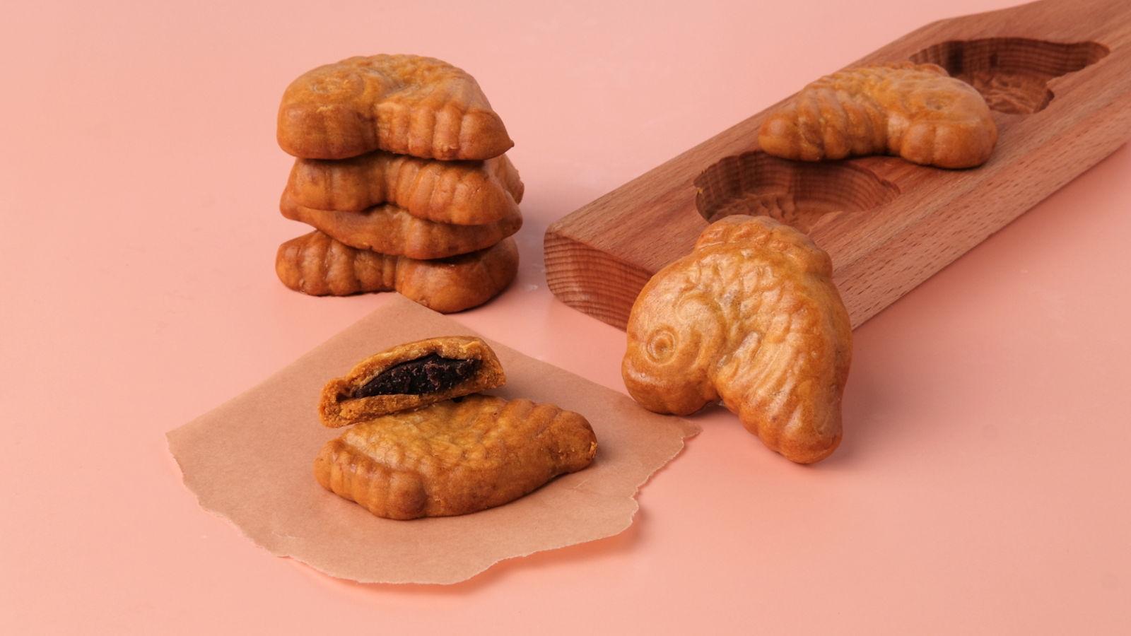 Mooncake Biscuits (公仔饼)