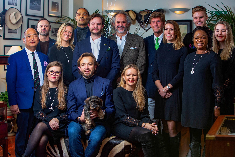Patrick Mavros Team in London