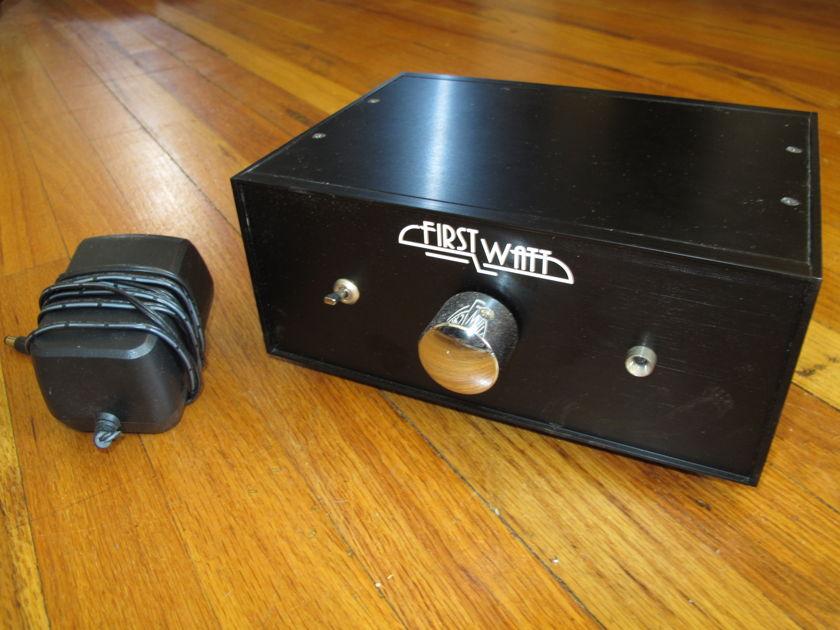 First Watt Stereo Preamp