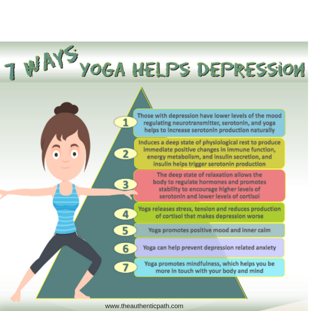 7 Ways Yoga Helps Depression