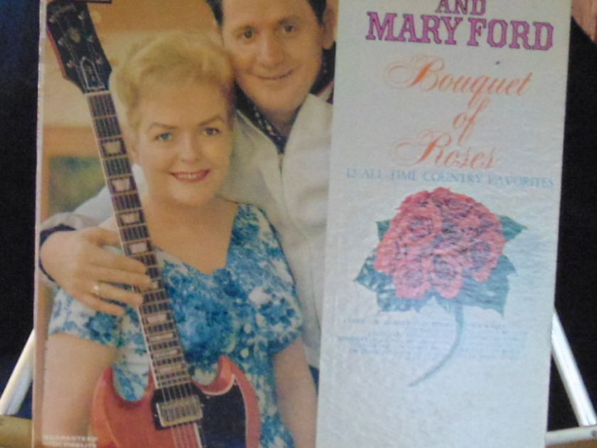 Les Paul & Mary Ford Lp - Banquet Of Roses Near Mint