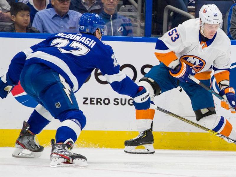 Lightning vs  Islanders