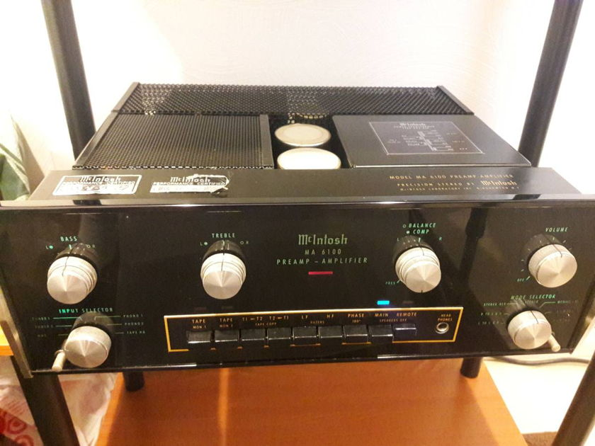 McIntosh MA6100 Recently Restored