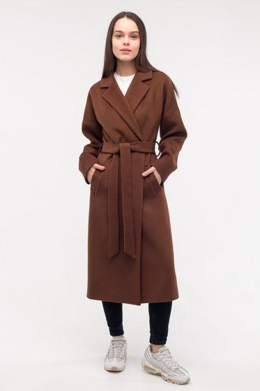 Пальто-халат цвета Milk Chocolate