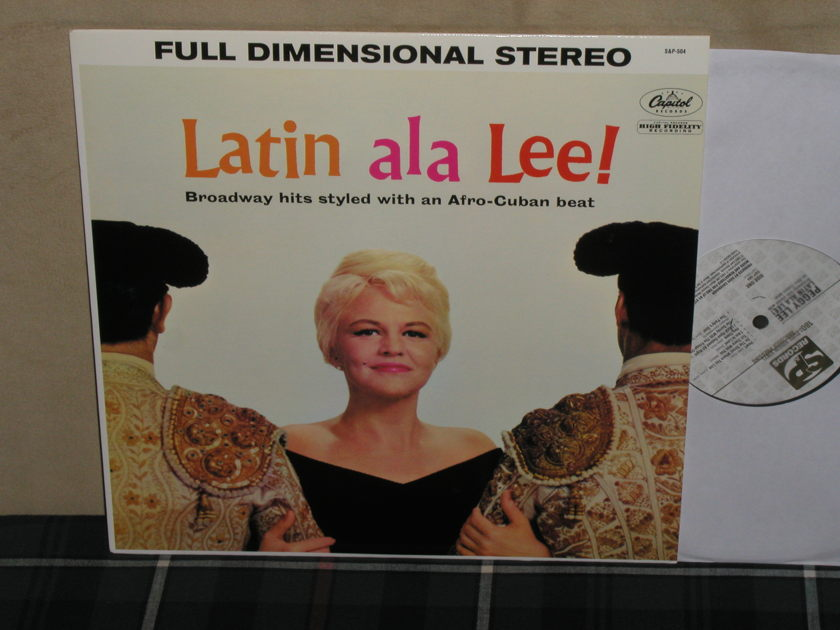 Peggy Lee  - Latin a la Lee S&P 180g from 2003. Ltd. Ed # 0129
