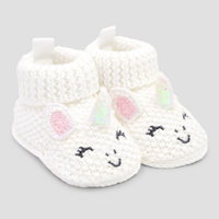 Just One You infant girl slippers