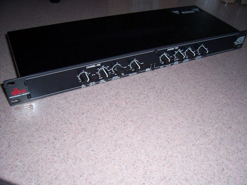 DBX 223XL Stereo 2 Way/Mono 3 way Crossover