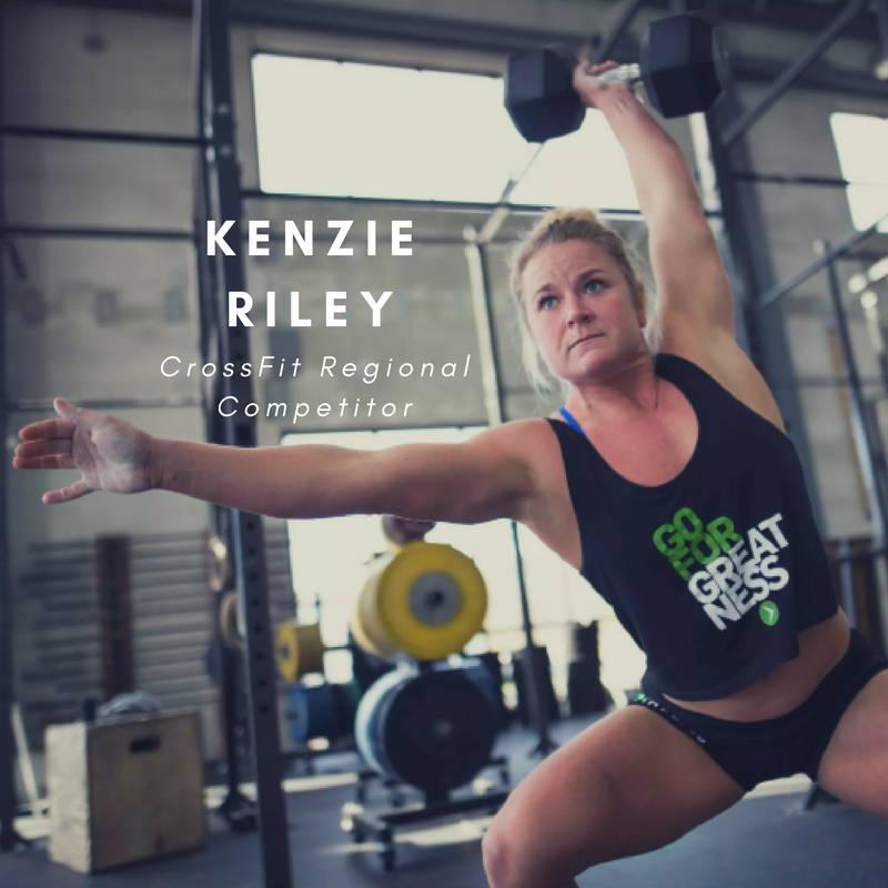 Kenzie Riley Crossfit Regional Competitor